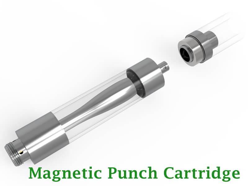 single-magnetic-punch-CBD-Oil-Cartridge