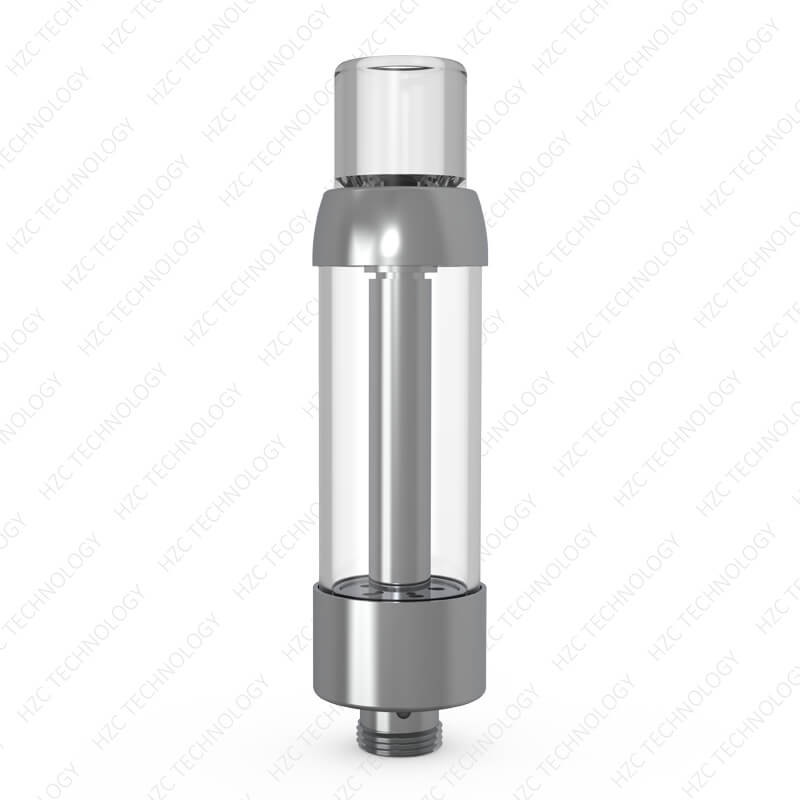 2 gram dab cart bull cart silver with clear tip
