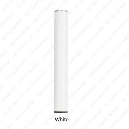 ccell battery buttonless oil pen white color