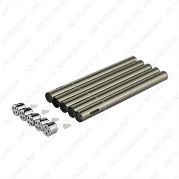 disposable pen D1 Pen silver-color with tips