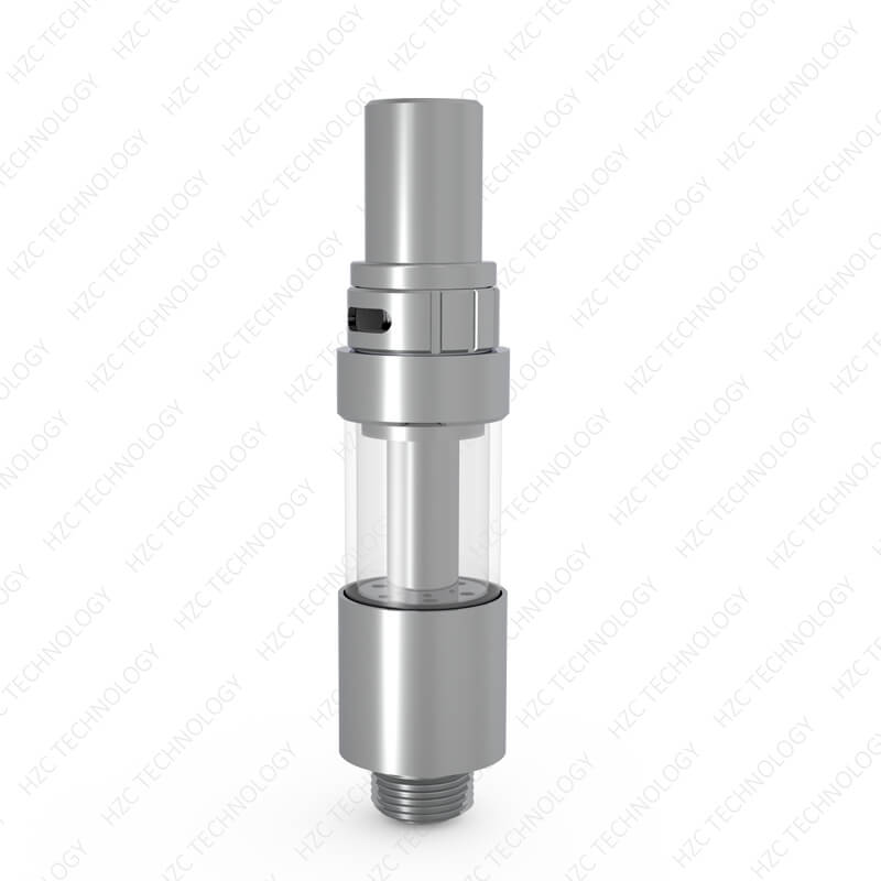 empty dab cartridge Liberty X5 Silver color front show