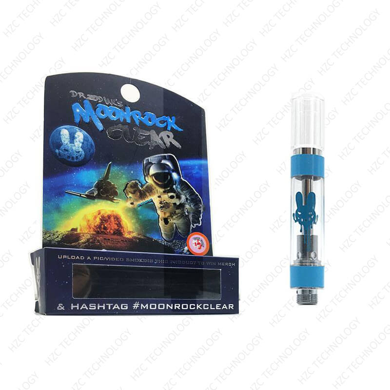 moonrock clear cartridge vape pen