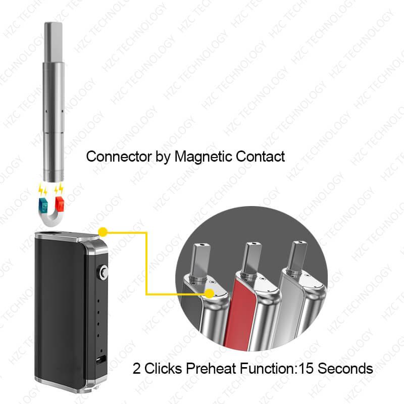 volt wax pen D box connector guider