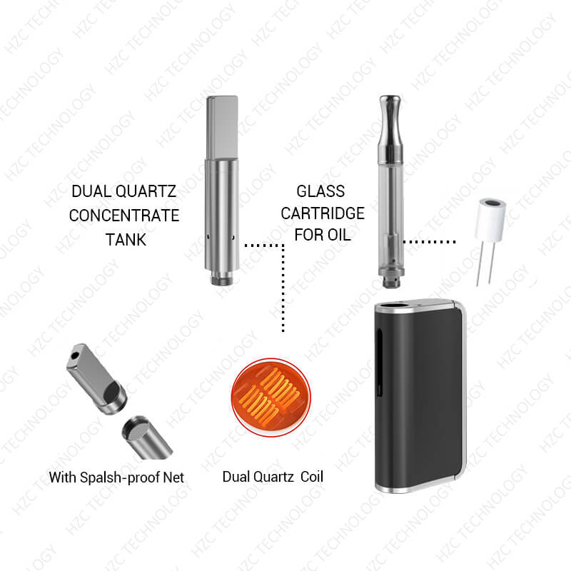 volt wax pen D box with cartridge guider