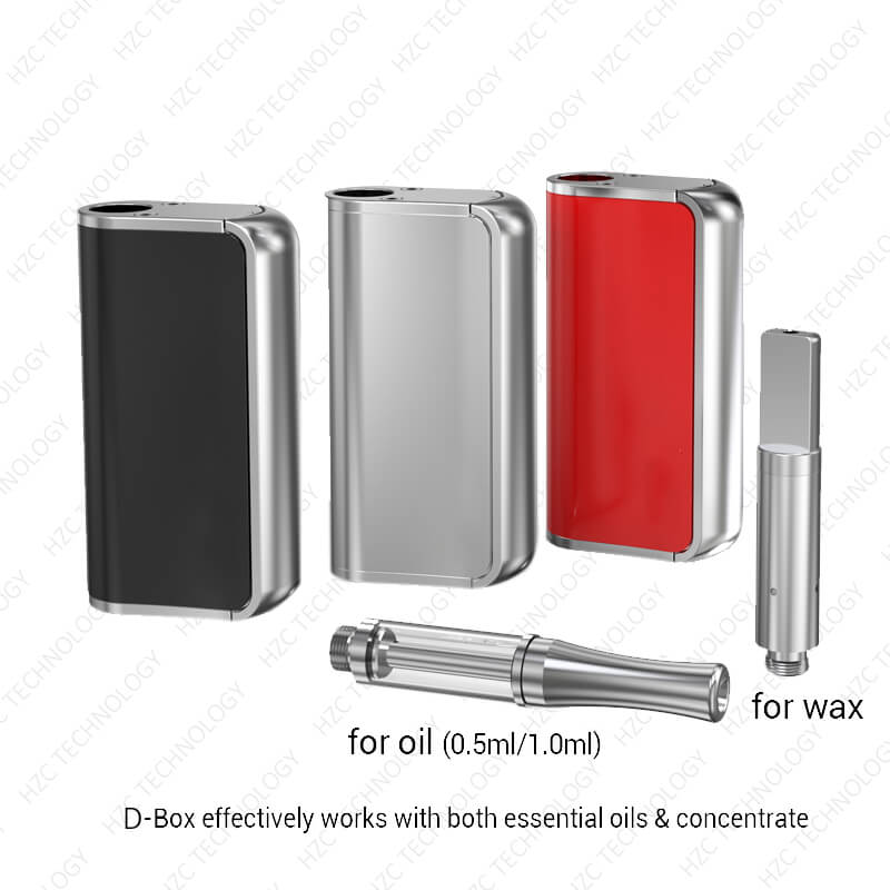 volt wax pen D box with different cartridge