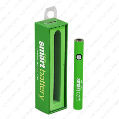 510 thread battery variable voltage Organic Smart Battery and gift box