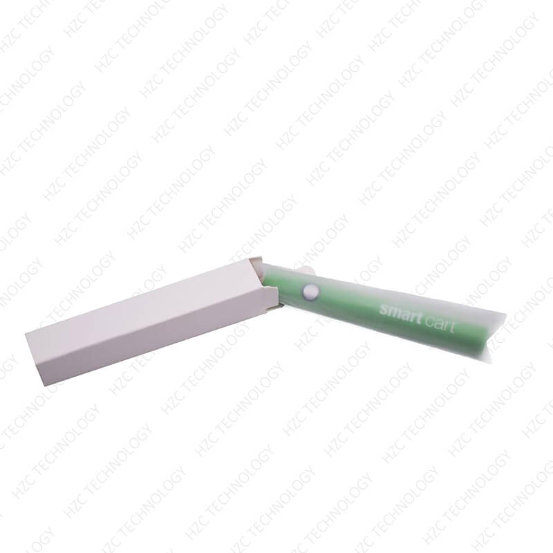 510 thread battery variable voltage Organic Smart Battery in white lable box