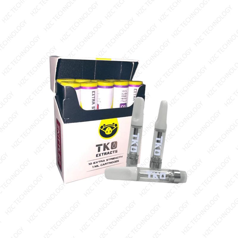 TKO cartridges wax cartridges wholesale with box