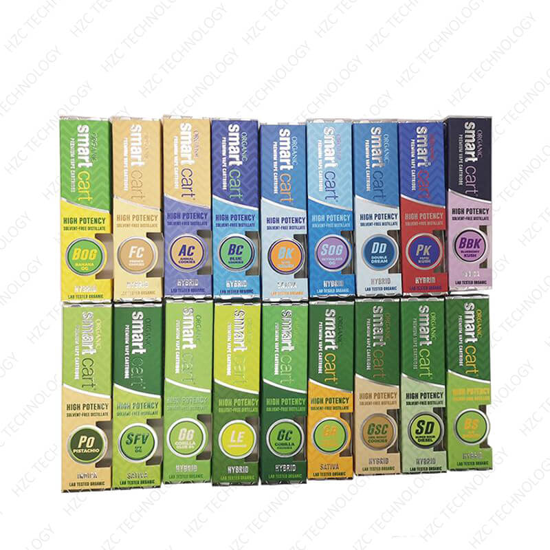 best refillable 510 cartridges Organic smart cartridge packaging