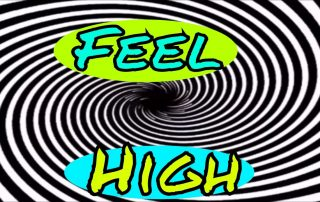feel high from cbd oil