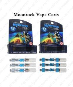 moonrock clear cartridge pen