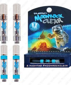 moonrock clear cartridge with package