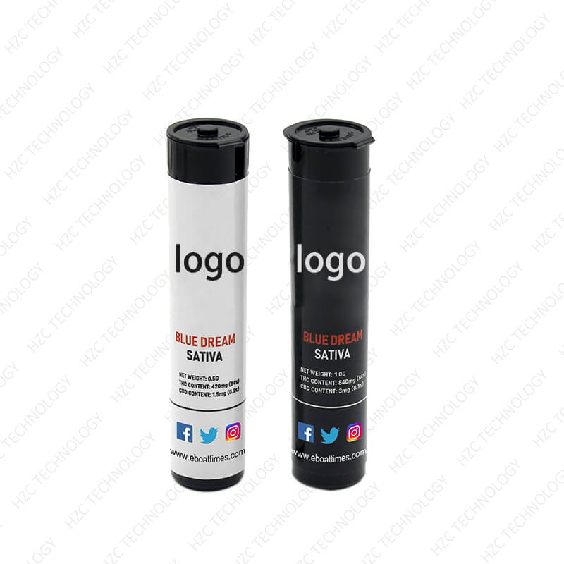 wax cartridge packaging tube