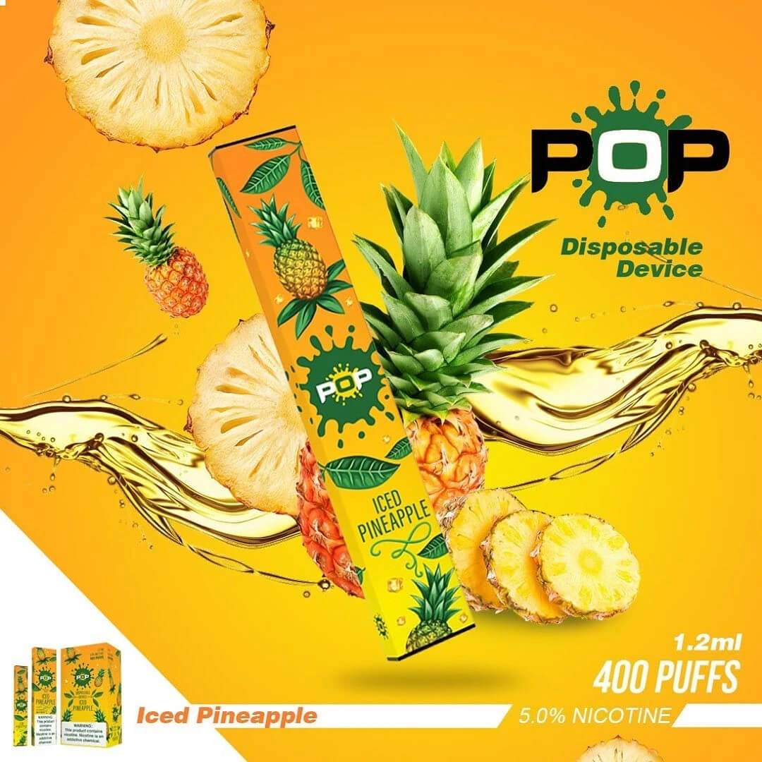 POP-disposable ICED-PINEAPPLE