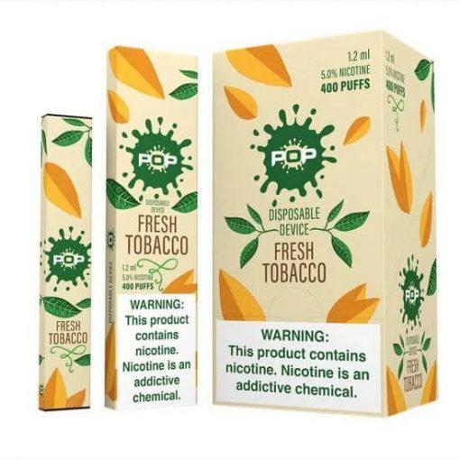 pop-DISPOSABLE-Fresh-Tobacco