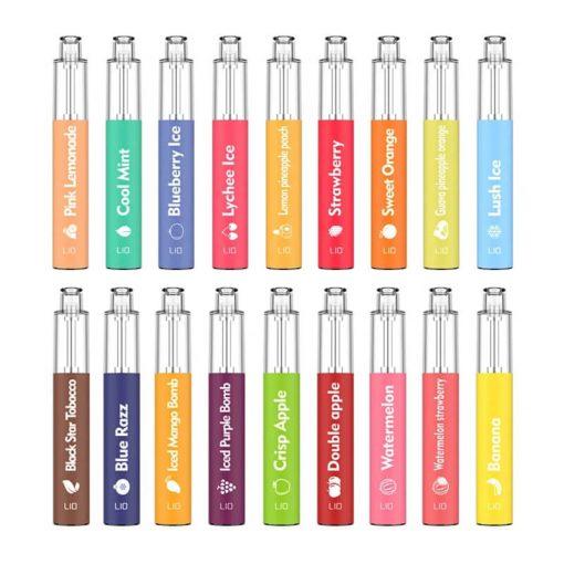 LIO-BEE-Disposable-bulk-wholesale-all-flavor-show