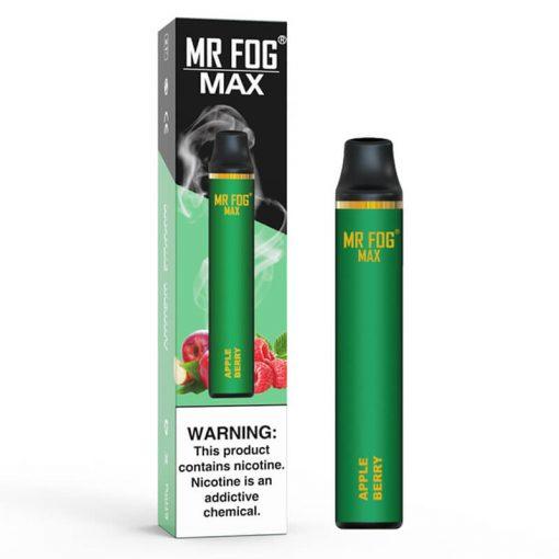 Mr-Fog-Max- bulk wholesale apple flavor
