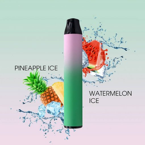 Dual-flavor-disposable-pinapple-and-watermelon-Flavor