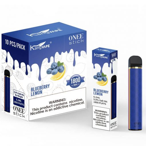 Kangvape-ONEE-stick-disposables-blueberry-lemon