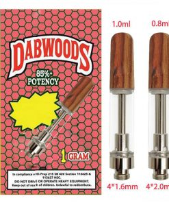 dabwood carts packaging empty cartridge bulk wholesale 1 Gram size