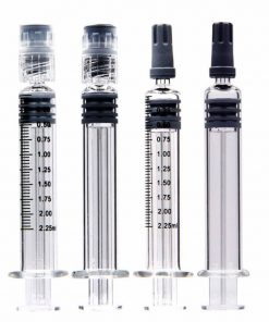2.25ml Luer Lock Glass Syringe For Distillate Oil