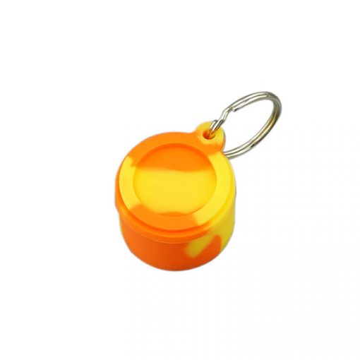 6ml Silicone Dab Containers Bulk Wholesale orange color