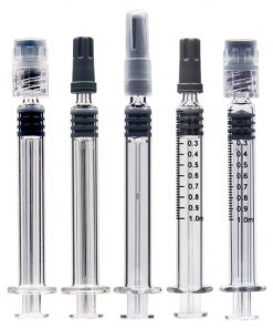 Glass Syringe 1ml With Luer Lock For Distillate