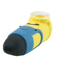 Minions Silicone pipe with glass bowl side show