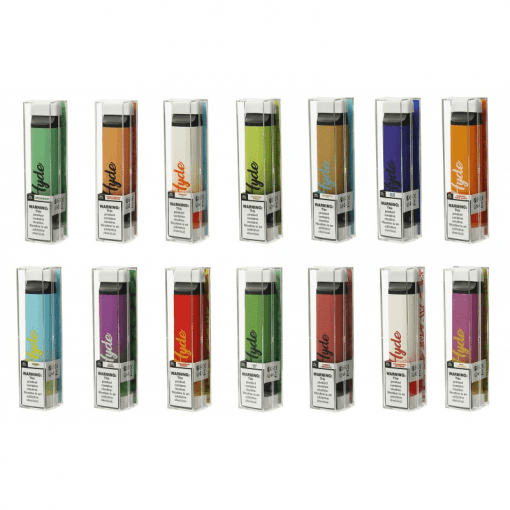 Hyde Edge 3300 puffs edition recharge disposable vape device with package collection