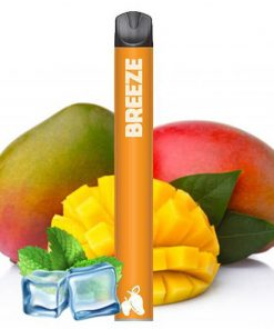 Breeze-smoke-800-puff-disposable-vape-device-Mango-ice-flavor
