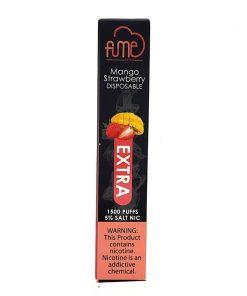 Fume Extra Disposable Vape 1500 puff device bulk wholesale mango-strawberry-disposable