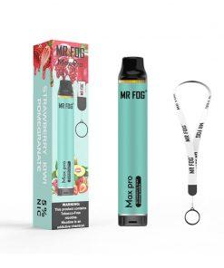 2000-puffs-Mr-Fog-Max-Pro-Disposable-Vape-Device-strawberry-kiwi-pomegranate-flavor
