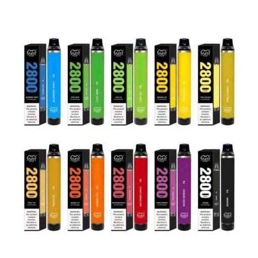 2800-Puffs-Puff-Flex-Disposable-Vape-Device Bulk wholesale collections