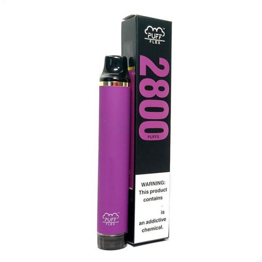 2800-Puffs-Puff-Flex-Disposable-Vape-Device Bulk wholesale grape flavor