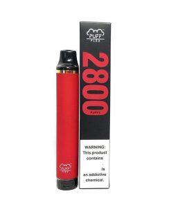 2800-Puffs-Puff-Flex-Disposable-Vape-Device Bulk wholesale strawberry