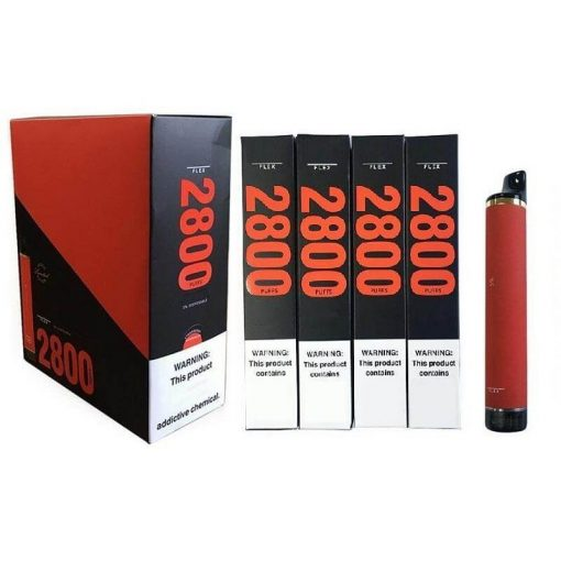 2800-Puffs-Puff-Flex-Disposable-Vape-Device Bulk wholesale with display box show